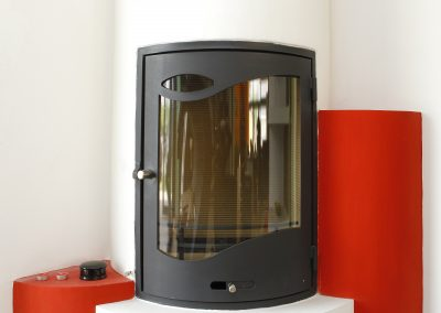 Circular fireplace – tall variant KK1