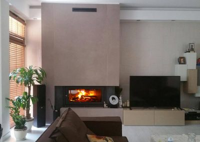 Plasma fireplace PK 1.2m