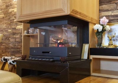 Panorama fireplace