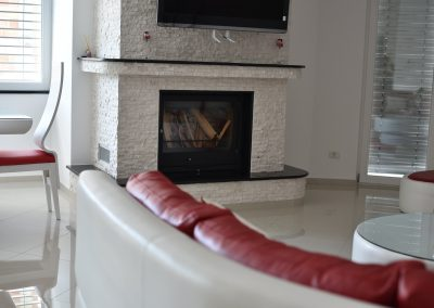 Flat fireplace RK2